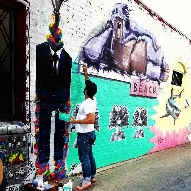 The Mural: Stumble upon Art with us.